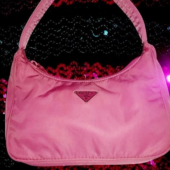 9d028625daef Prada Bags | Baby Pink Tessuto Nylon Mini Tote | Poshmark